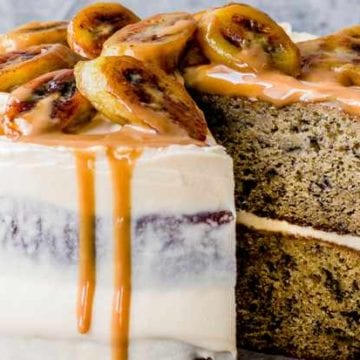 Recipe Basic Banana Birthday Cake