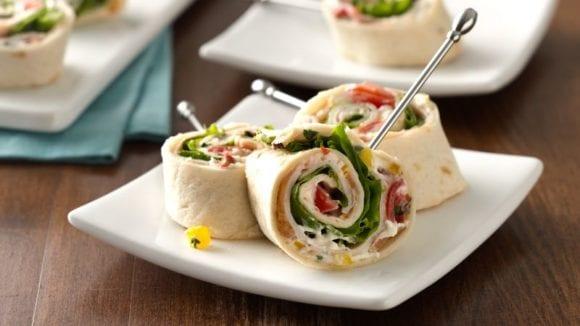 Appetizers: Turkey Rolls