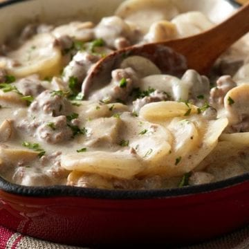 How To Spice Up Potato Stroganoff