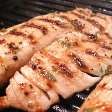 How To Make Grilled Tilapia Over Faro With Roasted Tomato Sauce