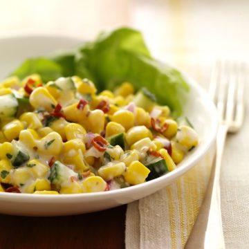 Game Day Recipes Crock Pot Zesty Corn Dips