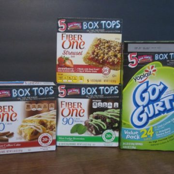 Betty Crocker Box Top For Education Giveaway