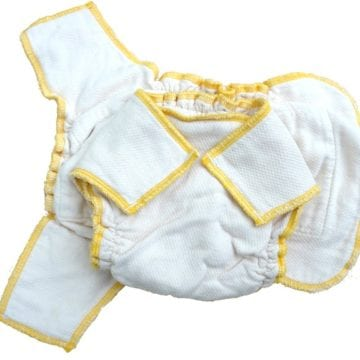 Little Smudgeez Fitted Diaper Review  Giveaway