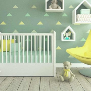 Anne Geddes Nursery Paint Review And Giveaway